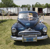 1947 Black Buick Eight Car Front View Royalty Free Stock Photography