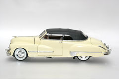 1947 Cadillac metal scale toy car. Picture of a 1947 Cadillac. Detailed scale model from my brothers toy collection Royalty Free Stock Photos