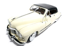 1947 Cadillac metal scale toy car fisheye #2 Royalty Free Stock Image