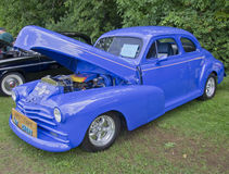 1947 Chevy 2 Door Coupe side view Stock Photos