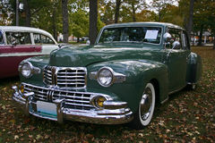 1947 Lincoln Continental. 1947 Ford Lincoln Continental at a fall car show.  This car was awarded Best of Show Stock Photo