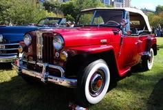 1948年威廉的Jeepster 库存照片