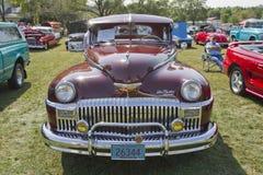 1948年DeSoto汽车 库存照片