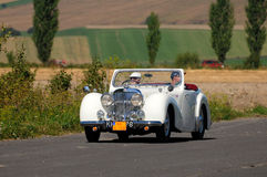 1949 2000 roadstertriumf Royaltyfri Foto
