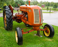 1949 Model 30 Cockshutt Tractor. An antique farming tractor from 1949 royalty free stock photos