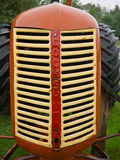 1949 Model 30 Cockshutt Tractor. Closeup of an antique farming tractor from 1949 royalty free stock images