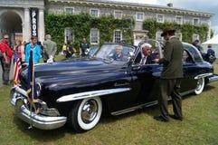 1950世界性大型高级轿车林肯 免版税库存图片