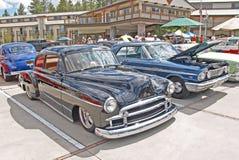 1950年薛佛列汽车小轿车 免版税库存图片