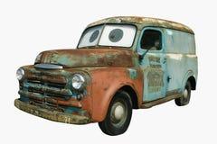 1950推托面板s无盖货车 免版税图库摄影