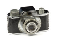 1950 17.5mm camera. An old 1950 camera with 17.5mm format Stock Photos
