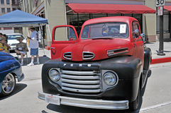 1950 F-1 Ford Ciężarówka Zdjęcia Stock