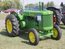 1950 John Deere Tractor. MARION, WI - SEPTEMBER 16: 1950 John Deere Tractor at the 3rd Annual Not Just Another Car Show on September 16, 2012 in Marion royalty free stock photos