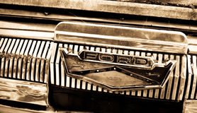 1950 S Ford Logo Royalty Free Stock Photography