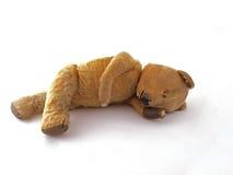 1950 teddy bear. Having a lay down Royalty Free Stock Photos