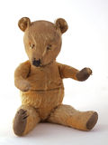 1950 teddy bear. Sitting down Royalty Free Stock Images