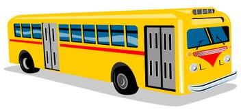 1950s bus coach style Στοκ εικόνες με δικαίωμα ελεύθερης χρήσης