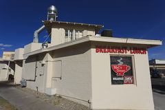 1950s style diner. Serves breakfast and lunch, Boulder City, Nevada Royalty Free Stock Photos