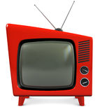 1950s ustawiają tv Fotografia Stock