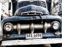 1951年福特F-1卡车在蒙得维的亚 库存图片