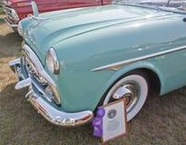 1951年Packard敞篷车证书 库存图片