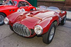 1951 Ferrari 212 Barchetta royalty free stock photography