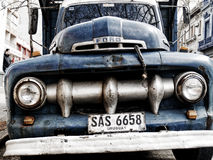 1951 Ford F-1 Pick-up in Montevideo Stock Afbeeldingen