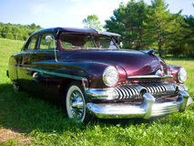 1951 Mercury Coupe. A customized 1951 Mercury Coupe was featured in the movie American Graffiti and was driven by Harrison Fords character stock photography