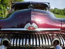 1951 Mercury Coupe Front End. A customized 1951 Mercury Coupe was featured in the movie American Graffiti and was driving by Harrison Ford's character royalty free stock image
