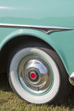 1951 Packard Convertible Whitewall Tire Stock Images