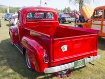 1952年福特装货背面图 库存照片