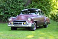 1952年薛佛列汽车经典之作 库存照片