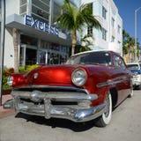 1952 Ford Customline в Miami Beach Стоковое Изображение