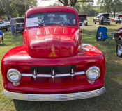 1952 Ford Pickup Front View Royalty Free Stock Image