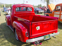 1952 Ford Pickup Rear View Stock Photo