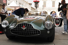 A 1952 Green Aston Martin DB3 Royalty Free Stock Images