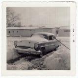 1953年buick照片葡萄酒 免版税库存图片