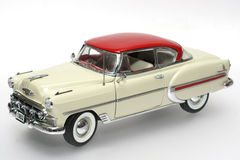 1953 Bel Air metal scale toy car #2. Picture of a 1953 Bel Air. Detailed scale model from my brothers toy collection Stock Photo