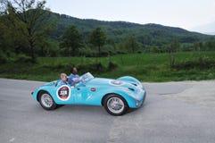 1953 hellblaues Gordini T24S Stockfotografie
