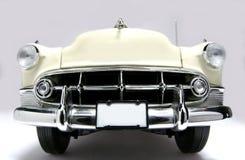1953 het stuk speelgoed van de het metaalschaal van het Bel Air auto fisheye frontview Royalty-vrije Stock Fotografie