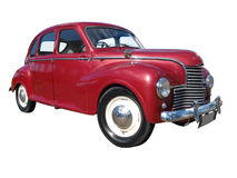 1953 Jowett Javelin. Isolated with clipping path Royalty Free Stock Photos