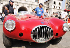 A 1953 Red Osca MT4-2AD Stock Images