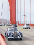 1954年大陆Bentley的R类型 库存照片