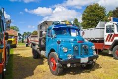 1954 truck austin diesel (british). Photo 1954 truck austin diesel (british) is shot on fredriksten fortress in halden at the annual amcar meeting Royalty Free Stock Photos