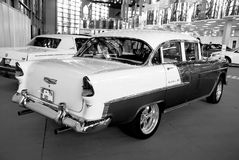 1955年薛佛列汽车 免版税库存图片