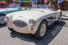 1955 Austin Healey 100S Stock Images