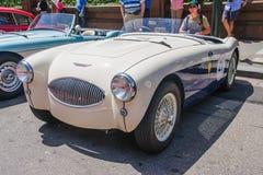 1955 Austin Healey 100S Stock Afbeeldingen