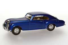 1955 Bentley 'R' Continental classic toy car. Picture of a 1955 Bentley 'R' Continental classic toy car. From my brothers toy collection Royalty Free Stock Photography