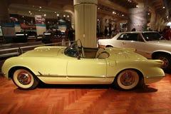 1955年Chevrolet Corvette 免版税库存照片