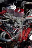 1955 Chevrolet engine. Stock Photos