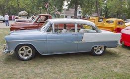 1955年Chevy Bel Air 库存图片